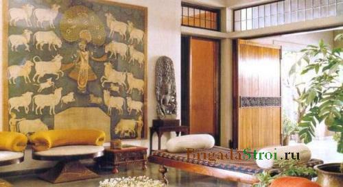 Интерьер жилого помещения в китайском стиле