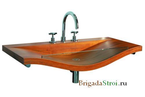 Из какого материала подобрать раковину для ванной комнаты