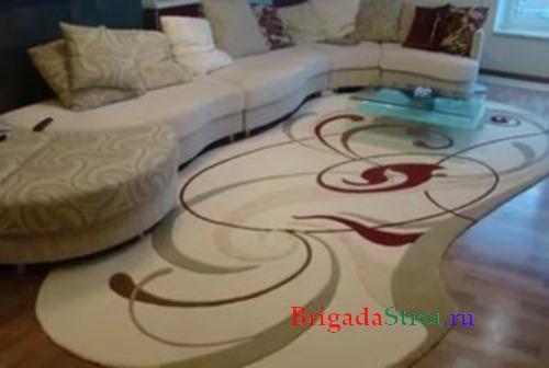 Какой или как правильно выбрать ковёр