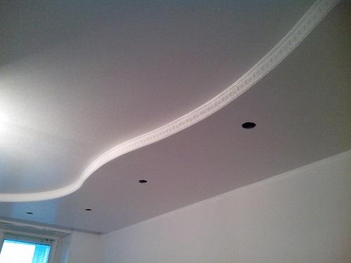 Зашпаклевать потолок своими руками