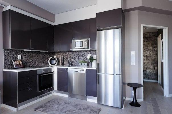 Дизайн современных угловых кухонь