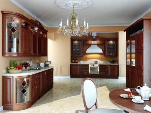 Просторная кухня фото смотреть