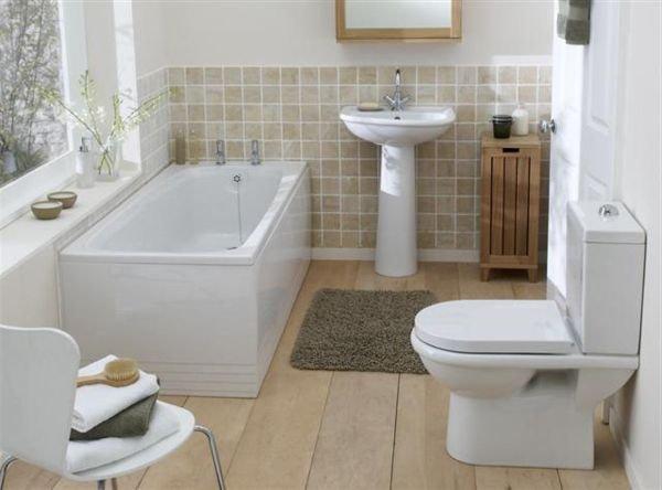 Белая ванна и туалет фото смотреть