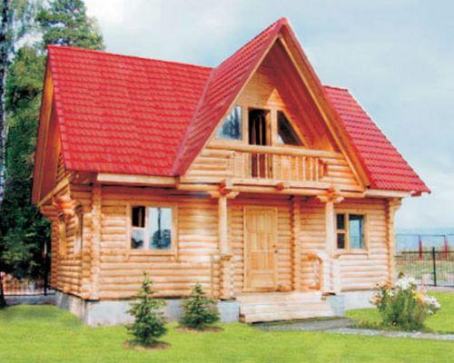 Ещё одна деревянного дома