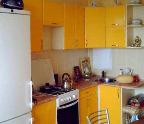 ремонт кухни маленькой фото