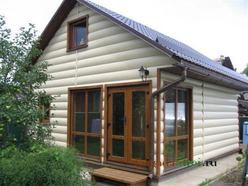 8 способов отделки фасадов частного дома + 32 фото
