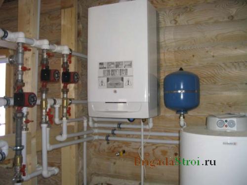 Газовые системы отопления частных домов своими руками