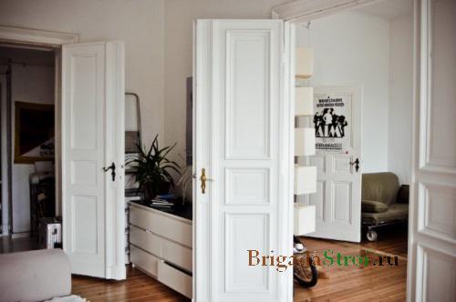 Как отреставрировать деревянную дверь своими руками